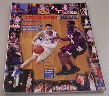 KU Jayhawk Basketball Program - Texas Jan 18, 1999