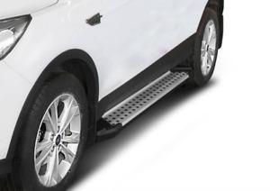 Premium Aluminium Advance Trittbretter / Side steps für FORD Kuga mit ABE!