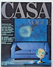 Casa Vogue 204 gennaio 1989 Rivista architettura USA Steven Holl B&B Italia