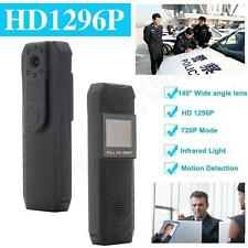 HD 1296P Body Police Pen Night Vision Camera Meeting Recorder DVR Pen 140 Degree