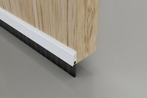 Concealed Fix Brush Strip Door Bottom Draught Excluder