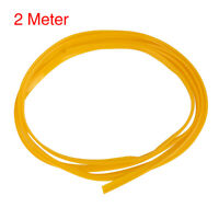 2m 6.56ft Car Yellow Interior Moulding Trim Strip Line Door Edge Seal Protector