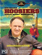 HOOSIERS (Gene HACKMAN Dennis HOPPER) TRUE STORY Basketball Film DVD Region 4