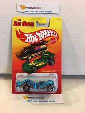 Zombot Blue * CHASE Redline * The Hot Ones * Hot Wheels * H16
