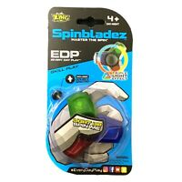 NEW Zing Triple Light-Up Spinbladez Master the Spin Stackable Fidget Spinners