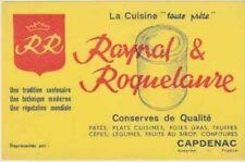 BUVARD 104236 RAYNAL ROQUELAURE CAPDENAC CONSERVES FOIE GRAS- 0
