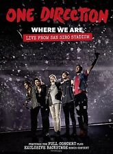 One Direction Where We Are Live from San Francisco NEW DVD Concert