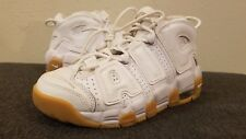 NIKE AIR MORE UPTEMPO (GS) Boys Shoes 415082-101 Size 4 Y 100% Authentic
