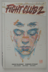 Autographed Chuck Palahniuk Fight Club 2 Signed Graphic Novel 1/1 Sealed + COA