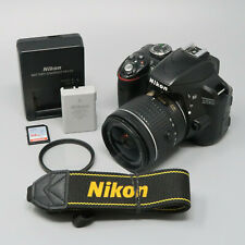 Nikon D3300 DSLR Camera - Black (Kit w/ AF-S DX VRII 18-55mm Lens) - 24K Clicks