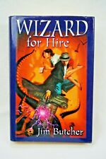 Wizard For Hire by Jim Butcher SFBC Omnibus Hardcover Dresden Files