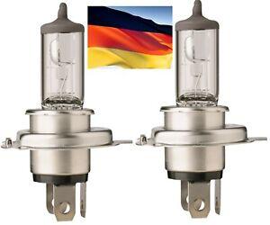 Flosser Rally 9003 HB2 H4 130/100W 9210043 Two Bulb Head Light Dual Beam Hi Watt