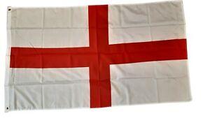England 5ft X 3ft Flag 75denier 2 eyelets for Flagpoles. FREE UK Delivery!