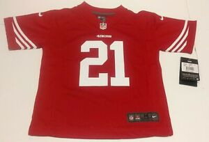 San Francisco 49ers Boy's Jersey. New With Tags Size 5/6