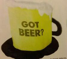 Got Beer Hat Great Halloween, New Years, Luaii, Mardi Gras, Sports Party Favor