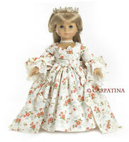 "Doll Clothes 18"" Dress Marie Antoinette Carpatina Made For American Girl Doll"