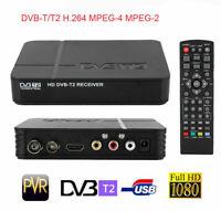 DVB-T2 3D HD Set Top Box Digital Receiver Freeview Recorder HDMI USB TV Tuner