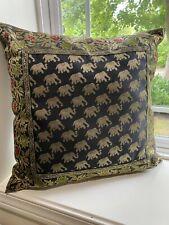 "Pillow cover/ Cushion Cover, Art Silk, Brocade 18"" x 18"", Decorative pillow case"