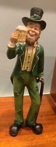 "11"" Saint Patrick Leprechaun Figurine:New"