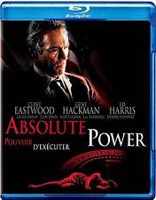 NEW BLU-RAY - ABSOLUTE POWER - Clint Eastwood, Gene Hackman, Ed Harris,