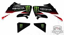 Honda CRF250 R CRF250R 2005 2006 2007 2008 Monster Sticker Kit Stickers 19-12322