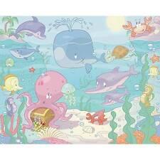 Walltastic Fototapete Baby - Unterwasserwelt
