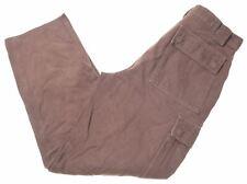 BELSTAFF Mens Cargo Trousers W30 L30 Brown Cotton  U205