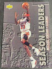 MICHAEL JORDAN,BULLS,1993-94 UPPER DECK SEASON LEADERS-SCORING, HOLO, CARD #166