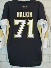 Evgeni Malkin #71 Pittsburgh Penguins Reebok Official Hockey Jersey Youth L XL
