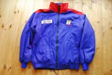 Vintage 80's Canon Williams F1 Formula One Insulated Shell Sport Jacket L