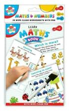Learn Maths to Count Write NUMBERS  Educational Wipe Clean Book Pre School Kids