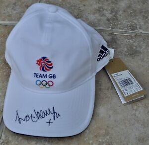 Laura Kenny Signed Adidas Team GB Tokyo 2020 Olympics Cap Cycling Gold BNWT