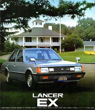 Mitsubishi Lancer EX 1980-81 Japanese Market JDM Sales Brochure 1400 1600 1800