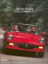 Alfa Romeo Spider 1982 - 1990 Dvd Manual, Manuals