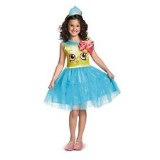 Shopkins Cupcake Queen Girl's Halloween Costume Child Size 4-6X Small #5169