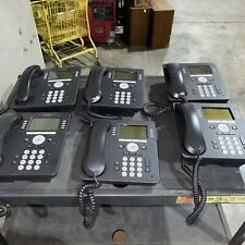 Lot Of 6 Avaya 9608g Ip Business Office Poe Phone Stand And Headset