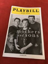 Mothers and Sons April 2014 Broadway Playbill.
