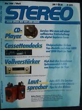STEREO 5/88,YAMAHA KX 1200,TEAC V 970X,SONY TC K 700 ES,NAKAMICHI CR 3E,NAD 6300