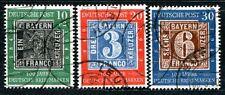 BUND 1949 113-115 gest SATZ 140€(J5080