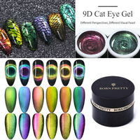 BORN PRETTY 5ml 9D Magnétique Cat Eye Gel Vernis à Ongles Soak Off Nail Varnish
