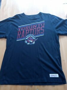 Retro logo Toronto Raptors T-shirt NBA Size XL