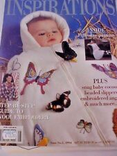 Inspirations The Worlds Most Beautiful Embroidery 1994 Issue 5 Wool Embroidery