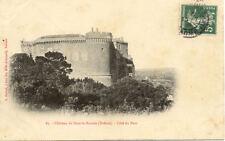 SUZE-LA-ROUSSE 87 château côté du parc timbrée 1908