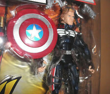 MARVEL LEGENDS figure STEVE ROGERS cap CAPTAIN AMERICA + SHIELD toy Avengers