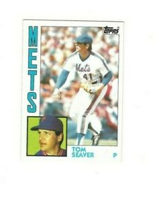 1984 Topps TOM SEAVER #740 New York Mets VG