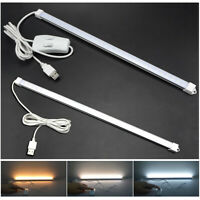 DC5V USB 35CM SMD 2835 30 LED Rigid Strip Hard Bar Light Tube Lamp Under Cabinet