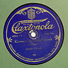 """Rare 78 Record Jimmy O'Keefe """"Kitten On The Keys"""" / """"Canadian Capers"""""""