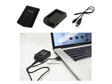 USB Ladegerät für Casio Exilim EX-FH100BK EX-H15 EX-H20GBK