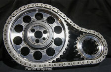 Rollmaster CS1050 Timing Chain Set Double Roller SBC 350 383 Torrington Nitrided