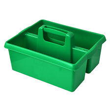 Wham GREEN plastic handy kitchen cleaning tool box utility caddy storage tidy